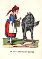 CPSM - LE PETIT CHAPERON ROUGE - Imagerie Pellerin / Epinal - Fairy Tales, Popular Stories & Legends