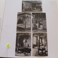 MODAVE - 5 Cartes -  Le Château : Escalier D'honneur, Chambre De La Favorite, Du Donjon, Bureau,salle De Garde - Modave