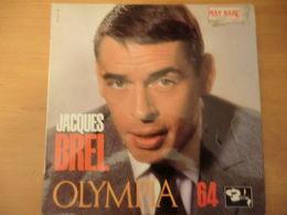 Disque 33 Tours 25 Cm De Jacques Brel Olympia 64 - - Autres - Musique Française