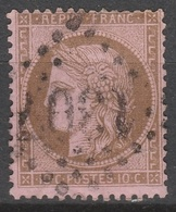 France  .    Yvert    .    58        .   O   .     Oblitéré   .   /   .    Cancelled - 1871-1875 Ceres