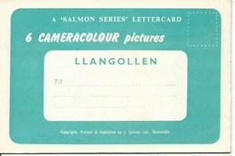 Lot De 6 Cartes Postales De Llangollen - Lettonie