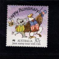 739922837 POSTFRIS MINT NEVER HINGED POSTFRISCH EINWANDFREI  SCOTT 1052 CARICATURE OF AUSTRALIA KOALA AND AMERICAN EAGLE - 1980-89 Elizabeth II