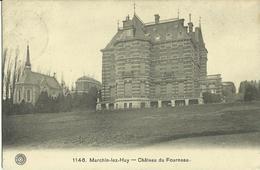 Marchin - Lez - Huy -- Château Du Fourneau. (2 Scans). - Marchin