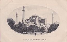 Turquie Constantinople Istambul Sainte Sophie Coté Nord - Turkije