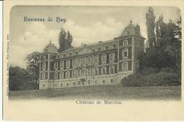 Environs De Huy -- Château De Marchin. (2 Scans). - Marchin