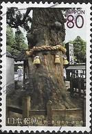 JAPAN (SHIZUOKA PREFECTURE) 2004 Cultural Heritage. Temples - 80y - Bells Encircling Tree, Gokurakuji Temple FU - 1989-... Empereur Akihito (Ere Heisei)
