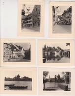 26945 Six 6 Photo Voyage Rhin Années 1960 - En Suisse  -Stein En Rhein Constance- Enseignes - Lieux