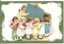 FANTAISIE. AU TABLEAU NOIR... - Enfants