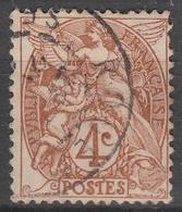 France  .    Yvert    .    110       .   O   .     Oblitéré   .   /   .    Cancelled - France
