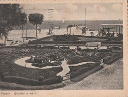 Cartolina - Postcard -   Viaggiata -  Sent  -  Pesaro, Giardini Al Mare  ( Gran Formato )  Anni 50° - Pesaro