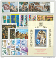Vaticano 1994 Annata Completa/Complete Year MNH/** - Annate Complete