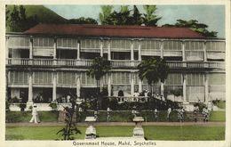 Seychelles, MAHÉ, Government House (1920s) Postcard - Seychelles