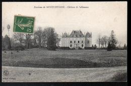 45, Montcresson, Chateau De Salleneuve, Eolienne à Gauche - France