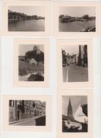 26946 Six 6 Photo Voyage Rhin Années 1960 - En Suisse -Lac Constance - Lindau Fribourg Mursburg - Lieux