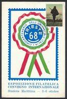 YN431   Trieste 1968 Manifestazione Filatelica Del Cinquantenario - Esposizioni Filateliche