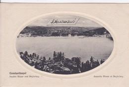 Turquie Constantinople Istambul Anatolie Hissar Et Beylerbey - Turkije