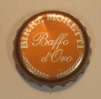 TAPPO A CORONA - USATO - BIRRA - MORETTI BAFFO D'ORO - - Birra