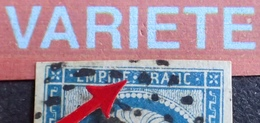 R1917/88 - NAPOLEON III - PAIRE N°14A - PC 404 : LE BLANC (Indre) INDICE 3 - BELLE VARIETE ➤➤➤ Retouche Du Point Central - 1853-1860 Napoleon III