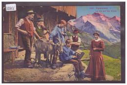 SCENE ALPESTRE - CHEVRE - TB - Suisse