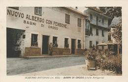 ALBERGO ANTONINI - BAGNI DI CRODO - Verbania