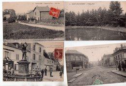 Saint Leu Taverny 1 Lot De 4 Cartes - Saint Leu La Foret