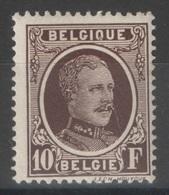 Belgique - YT 210 * - 1922-1927 Houyoux