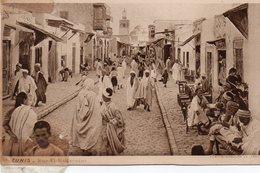 TUNIS Rue El Halfaouine - Tunisie