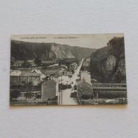COMBLAIN AU PONT - La Vallée  N/B Avec Train ---ecrite - Comblain-au-Pont