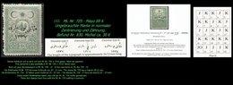 EARLY OTTOMAN SPECIALIZED FOR SPECIALIST, SEE...Mi. Nr. 725 - Mayo 69 K - Auflagenanteil 6.145 Stück - 1920-21 Anatolia
