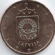 Letland 2018    1 Cent    ZEER Zeldzaam - Extreme Rare  UNC Uit De BU -du Coffret  7.000 Ex !! - Lettonie