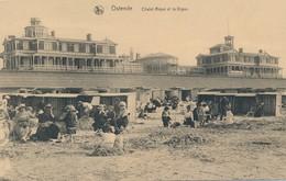 CPA - Belgique - Oostende - Ostende - Chalet Royal Et La Digue - Oostende