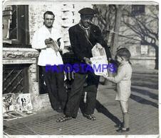 109470 ARGENTINA STREET CALLE PRINGLES COSTUMES DIARIERO PAPERBOY PHOTO NO POSTAL POSTCARD - Fotografie