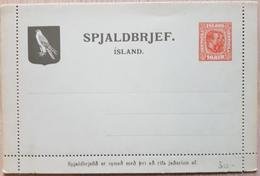Iceland Spjaldbrjef - Islanda