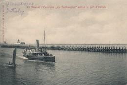 CPA - Belgique - Oostende - Ostende - Le Steamer D'Excursion Le Southampton - Oostende