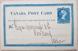 Canada Post Card - Canada