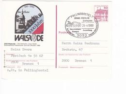 Karte BRD Bildpostkarte Walsrode (Hermann-Löhns) Fallingbostel Siebensteinhäuser Hühnengrab - Postales Ilustrados - Usados