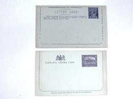 2 Antieke Briefkaarten Australië / Tasmanië (1905/1915) - Postal Stationery