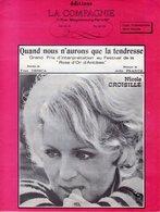 NICOLE CROISILLE - QUAND NOUS N'AURONS QUE LA TENDRESSE - Y. DESSCA / ALDO FRANCK - 1969 - ANTIBES ROSE D'OR -EXC ETAT - - Autres