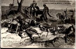 BORNY ** Champ De Bataille-- Les Morts ** -- Signature De MEAULLE -- Guerre Franco-Allemande De 1870-71 -- NEUVE - Metz