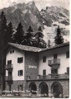 Albergo Ristorante Val Veny Con Sfondo M. Bianco - Courmayeur M. 1480 - Italia