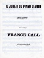 FRANCE GALL - MICHEL BERGER - IL JOUAIT DU PIANO DEBOUT - 1980 - EXCELLENT ETAT - - Music & Instruments