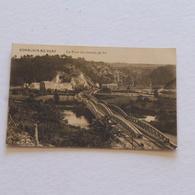 COMBLAIN AU PONT -Le Pont Du Chemin De Fer  - Envoyée - Comblain-au-Pont