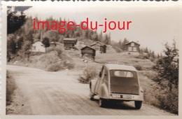 Photo Ancienne  VOITURE CITROËN 2CV AUTOMOBILE - Automobiles