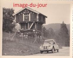 Photo Ancienne  VOITURE CITROËN 2CV AUTOMOBILE - Automobile