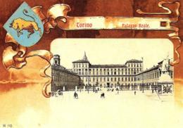 [DC0231] CPM - CARTOLINEA 231 - TORINO - PALAZZO REALE - OSTENSIONE DELLA SINDONE 1998 - Non Viaggiata - Palazzo Reale