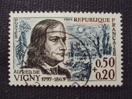 "60-69- Timbre Oblitéré N°1375    "" Alfred De Vigny    ""  0.60 - Used Stamps"