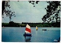 """LANGRES (52) - Lac De La Liez - """"Zone De Voile"""" - Voile"""