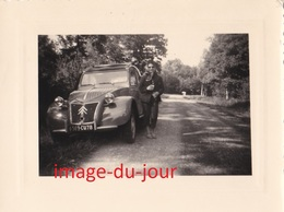 Photo Ancienne  VOITURE CITROËN 2CV   AUTOMOBILE - Auto's