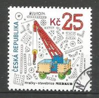 Tschechische Republik  2015   Mi.Nr. 846 , EUROPA CEPT - Historisches Spielzeug - Gestempelt / Used / (o) - Europa-CEPT
