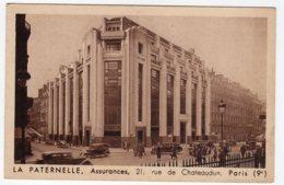 Paris (Seine)   La Paternelle, Assurances, 21, Rue De Chateaudun, IXe Arr. - France